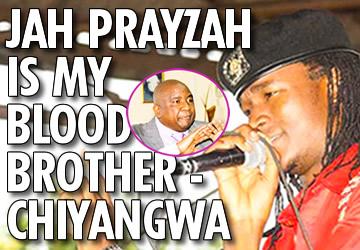 Jah Prayzah is my blood brother – Chiyangwa