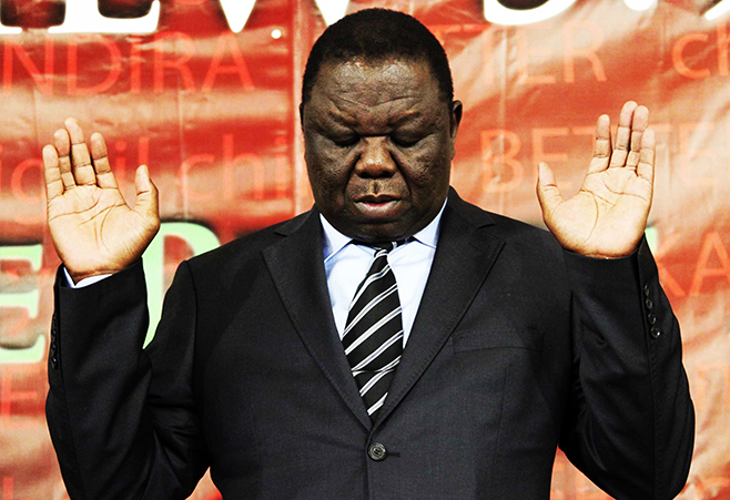 Failed Mugabe must step down, call for elections, says Tsvangirai