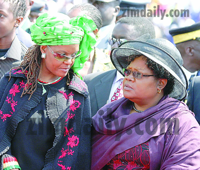 "First Lady says ""hurt"" by Mujuru ouster"