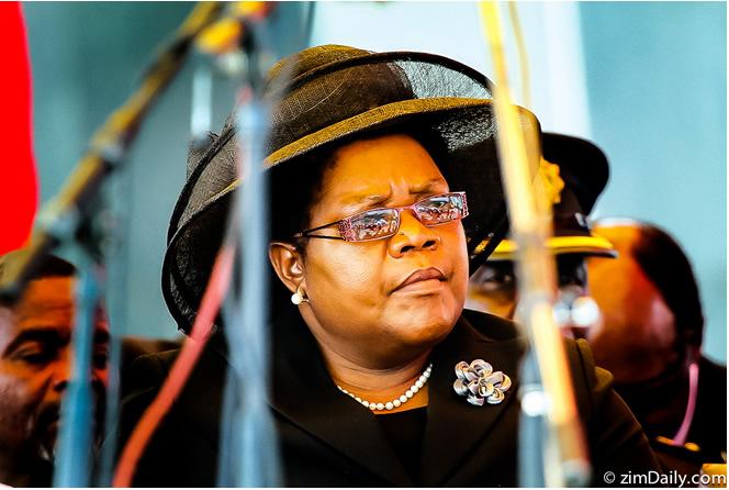 Mujuru rejects Mugabe Pension