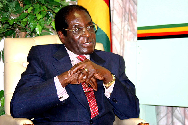 "Why Robert Mugabe just shouted ""We are not gays & quot in his UN speech"