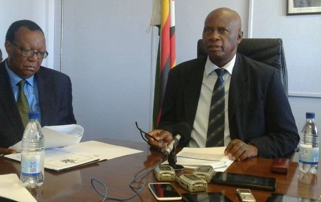 Zim war vets minister accuses Chinamasa of trying to topple Mugabe