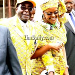 Mugabe, wife off to New York