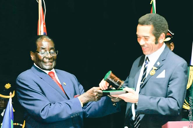 Khama blasts African leaders who cling to power
