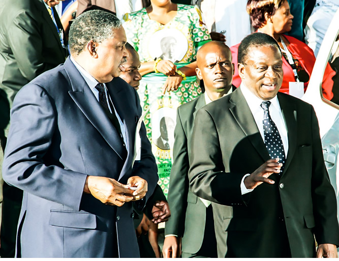 VP Job is not a honeymoon – Phelekezela Mphoko
