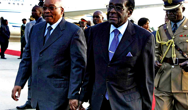 President Mugabe's numerous travels draining national fiscus