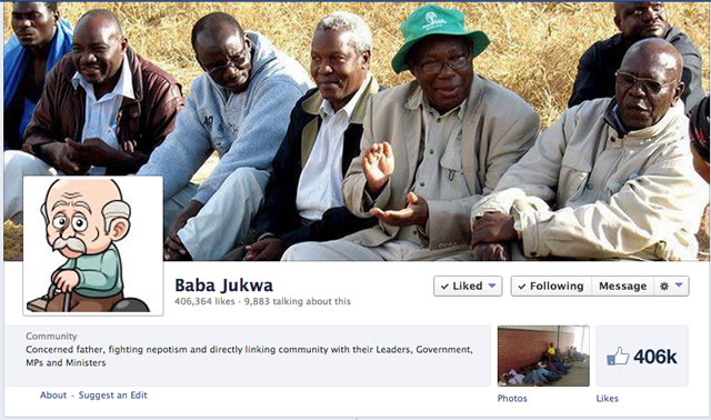 """Baba Jukwa"" fired from Zimpapers"