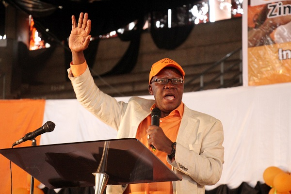 Biti blasts 'stupid' West for pro-Mnangagwa stance