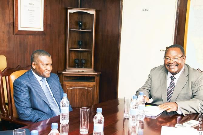 Dangote gets the all clear to invest in Zimbabwe