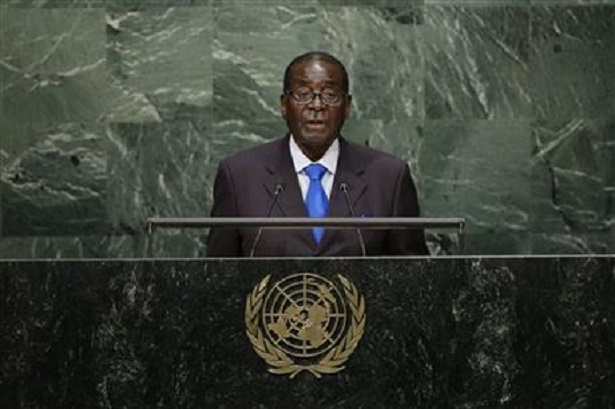 Zimbabwe President blames refugee crisis on external forces