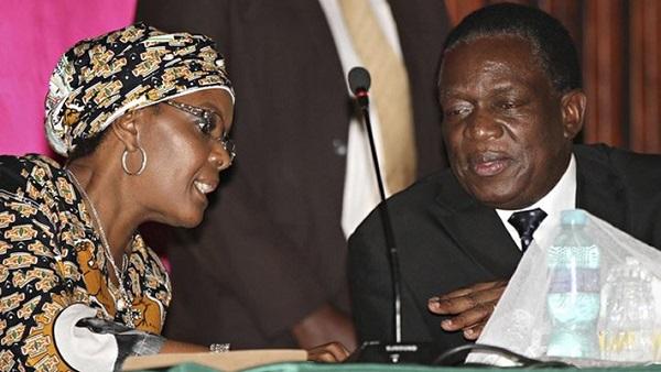 Grace Mugabe fires top Mnangagwa allies