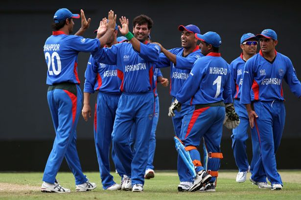 Afghanistan players rise after T20 series victory …
