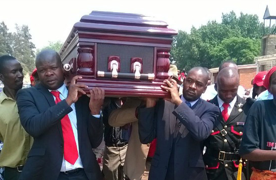 Burial shows Tsvangirai has lost grip of his party