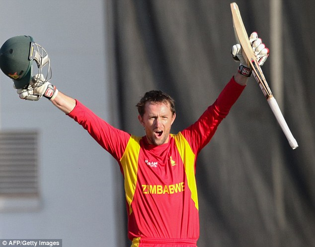 Ervine ton gives Zimbabwe series