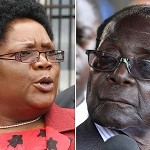 Mujuru and Mugabe