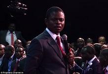 Zimbabwe prophet Shepherd Bushiri's attempt to prove he can 'walk on air …
