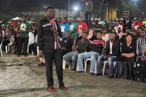 Magaya preaches to Zimbabwe people