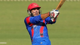 Zimbabwe v Afghanistan: Mohammad Nabi hundred in win