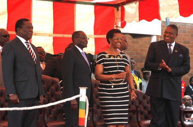 'Mugabe paves way for wife'