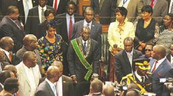MPs unanimously oppose Mugabe over debt takeover