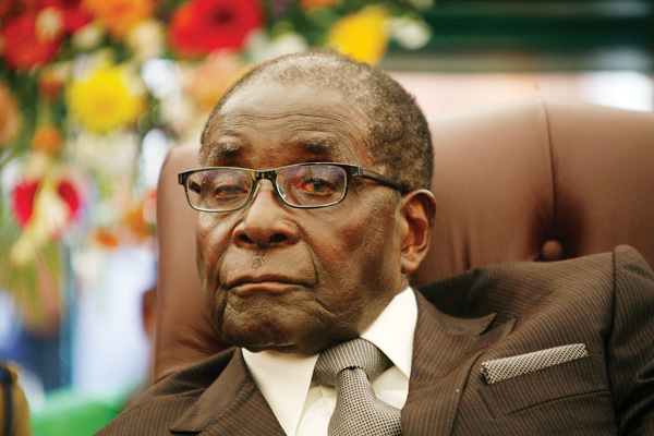 First Lady hints at Mugabe successor