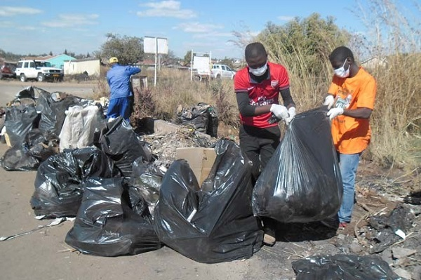 Let's clean up the Harare city, Environmental management spreading awareness