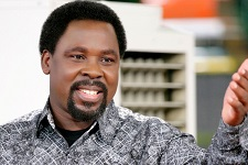 Trouble for Southern African president: TB Joshua