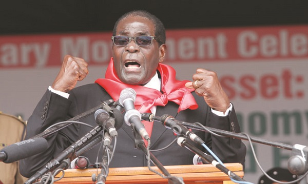 Zimbabwe's Mugabe says rivals within his party must 'shut up'