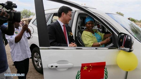 China hands over latest anti-poaching equipment to Zimbabwe
