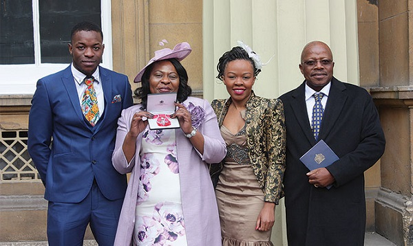 British Queen honours Zimbabwean caregiver