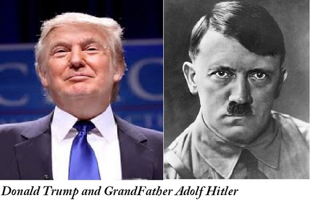 """Adolf Hitler is Donald Trump's grandfather"", Robert Mugabe does what his …"