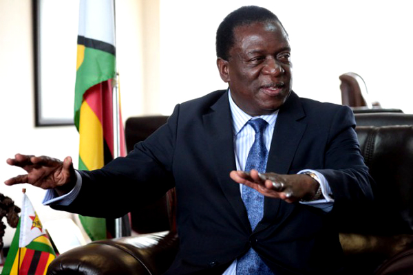 Break-in hoax at VP Mnangagwa's office