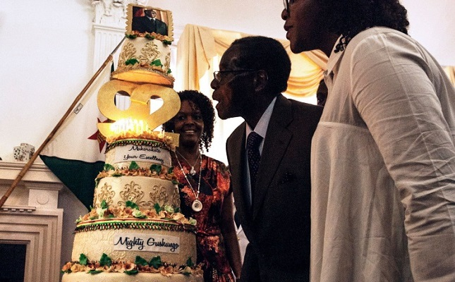Succession battles swamp Mugabe birthday celebrations