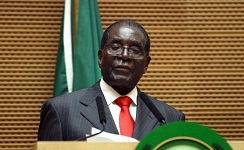 Mugabe takes a swipe at UN, whites