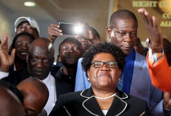 Zimbabwe's ex-VP launches party to challenge veteran Mugabe