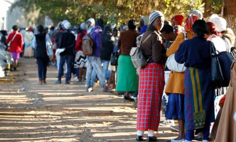 Mnangagwa's govt blames US sanctions for IDs crisis